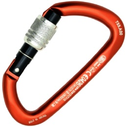 Petzl Spirit Screw-Lock Schraubkarabiner