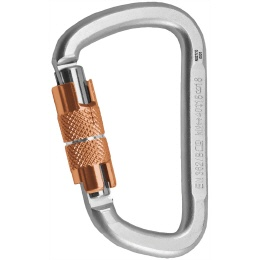 Rock Empire Oval 3T Karabiner Stahl