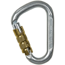 Rock Empire D-Form 3T Karabiner Stahl
